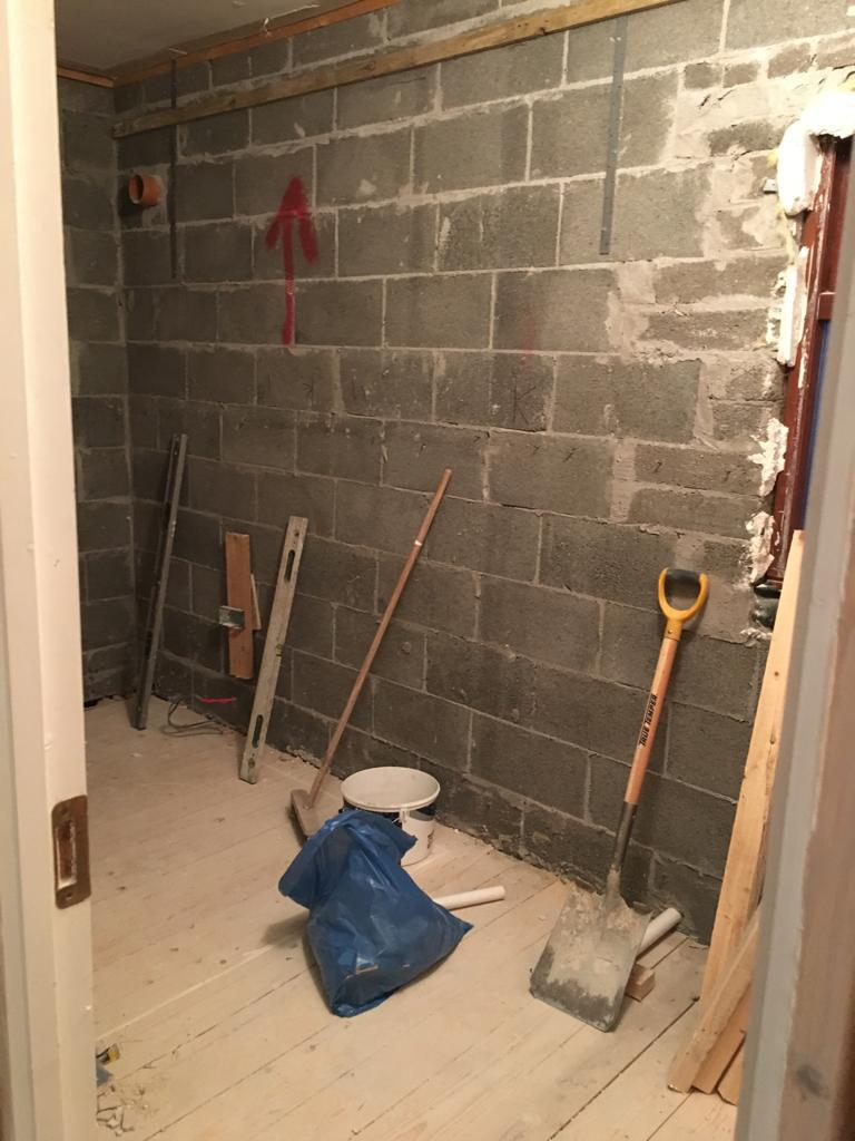 Renovating room
